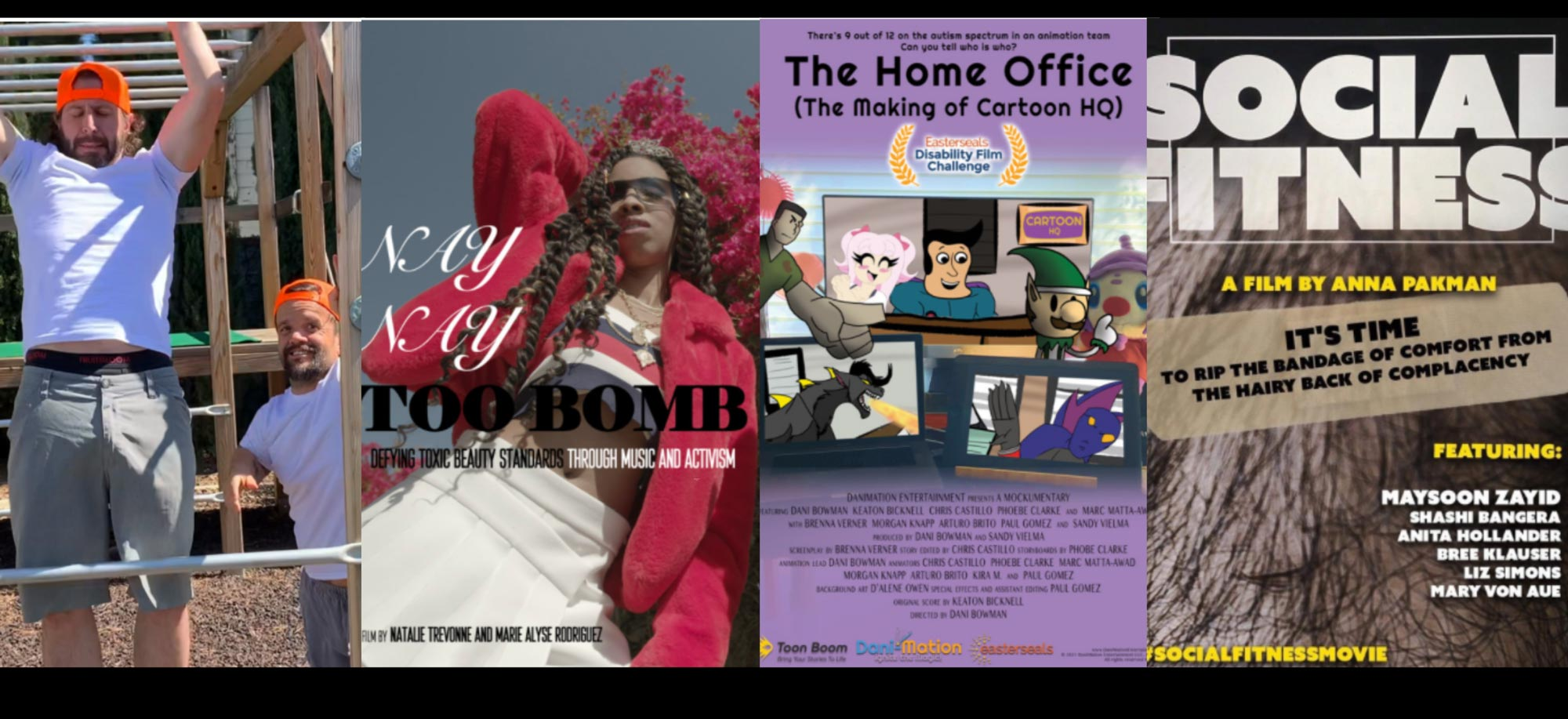 2021 Easterseals Film Challenge Home Edition Winning Films