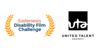 Easterseals Disability Film Challenge logo and United Talent Agency logo