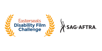 Easterseals Disability Film Challenge logo and Screen Actors Guild-American Federation of Television and Radio Artists logo
