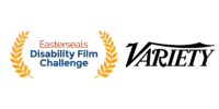 Easterseals Disability Film Challenge logo and Variety logo