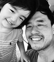 Randall Park and Ruby