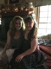 Photo of Amy Brenneman and Jamie Brewer
